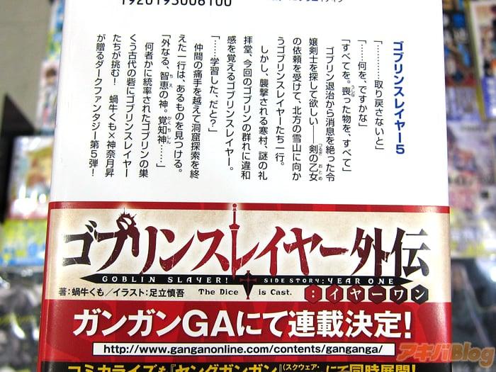Goblin Slayer/ゴブリンスレイヤー第5卷「向不知是何物统率的哥布林据点古代要塞发起挑战!」 - 轻小说 - ACG17.COM